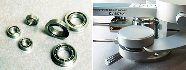 high precision all stainless steel bearings dynavector dv 507 mkii